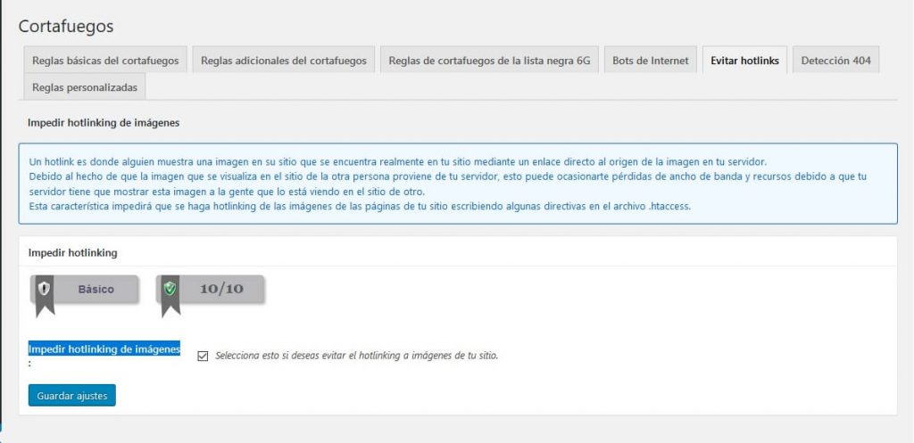 evitar hotlinking en wordpress