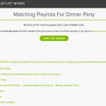 Playlist Miner: el hiperbuscador de listas de reproducción en Spotify
