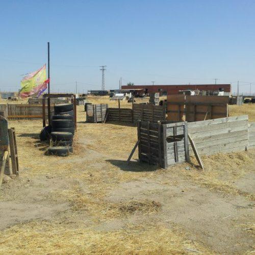 Distrito 9 campo de airsoft madrid