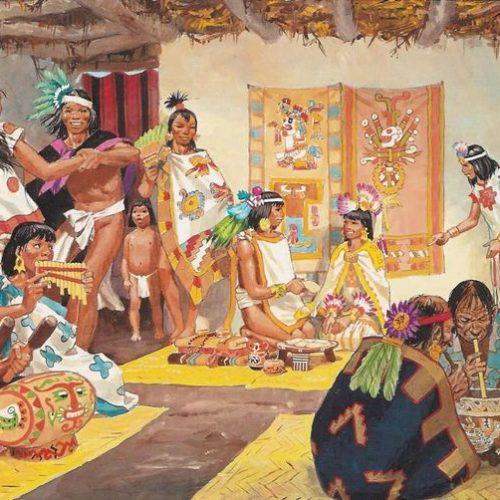 como vestian los mayas