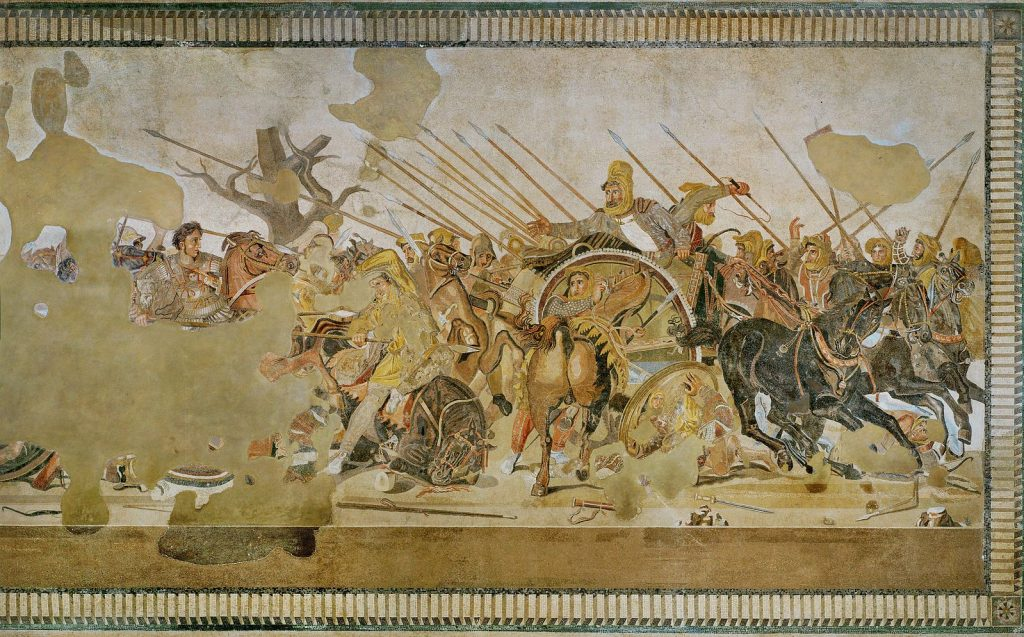 Alexander batalla de issus