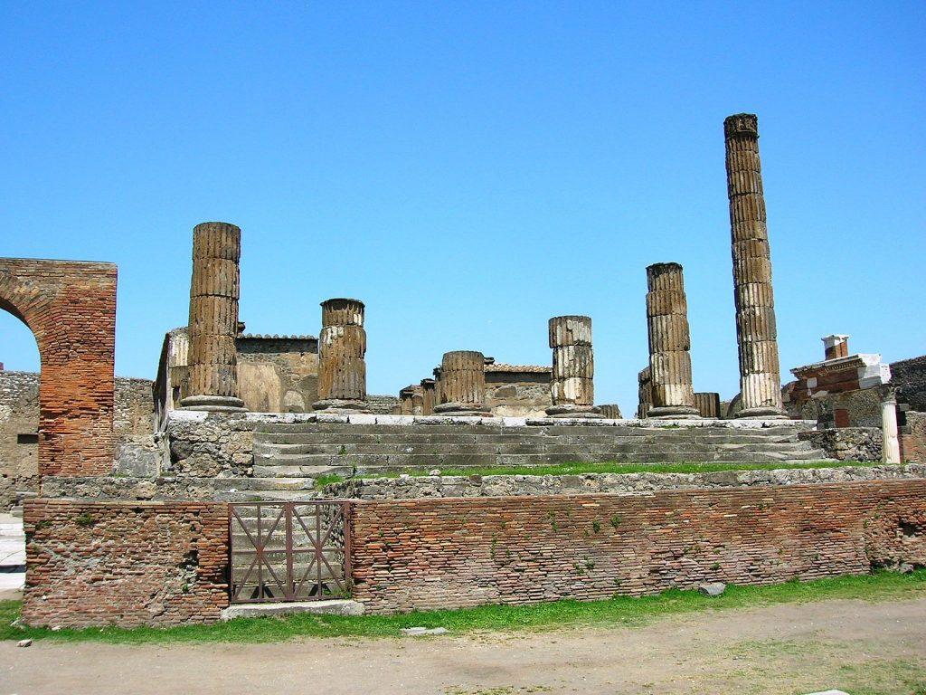 Templo di Giove pompeya