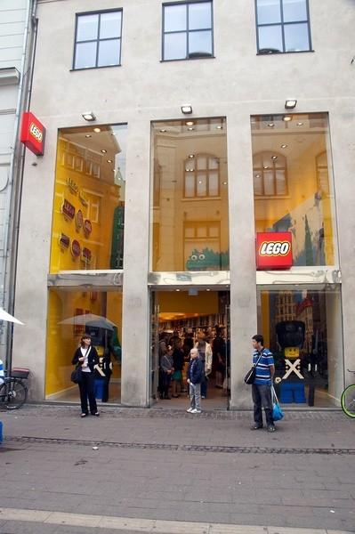 LEGO Store que hacer gratis en copenhague